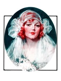 """June Bride,""June 7, 1924 Giclee Print by J. Knowles Hare"