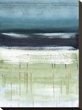 Meer und Himmel II Bedruckte aufgespannte Leinwand von Heather Mcalpine