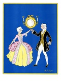 """The Minuet,""February 1, 1932 Giclee Print by W. P. Snyder"