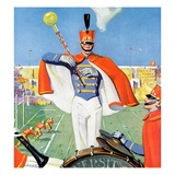 """Drum Major,""October 1, 1932 Giclee Print by Hallman"