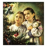 """Christmas Angel,""December 1, 1948 Giclee Print by George Garland"