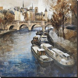 Notre-Dame, Paris Stretched Canvas Print by Marti Bofarull