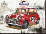 British Car Stretched Canvas Print by Bresso Solá