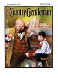 """""""School Master,"""" Country Gentleman Cover, September 1, 1926 Giclee Print by William Meade Prince"""