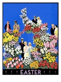"""Easter Flowers,""April 1, 1932 Giclee Print by Kraske"
