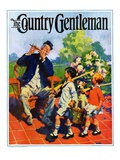 """Children's Fourth of July Parade,"" Country Gentleman Cover, July 1, 1927 Giclee Print by William Meade Prince"
