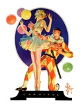 &quot;Carnival,&quot;February 25, 1933 Giclee Print by J.C. Leyendecker