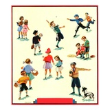 """Back to School,""September 1, 1932 Giclee Print by Kraske"