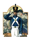 """Military School Graduate,""July 3, 1926 Giclee Print by Elbert Mcgran Jackson"
