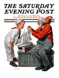 """Model Ship,"" Saturday Evening Post Cover, May 31, 1924 Giclee Print by J.F. Kernan"