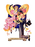 """Romantic Easter,""March 31, 1934 Giclee Print by Joseph Christian Leyendecker"