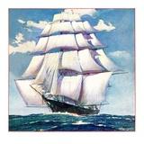 """At Sea,""June 1, 1935 Giclee Print"