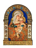 """Madonna and Child,""December 24, 1927 Giclee Print by J.C. Leyendecker"