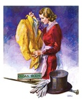 """Hatcheck Girl,""July 17, 1937 Giclee Print by John LaGatta"