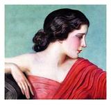 """Exotic Woman,""November 18, 1933 Giclee Print by Wladyslaw Benda"