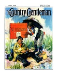 """'No Trespassing',"" Country Gentleman Cover, April 1, 1928 Giclee Print by William Meade Prince"