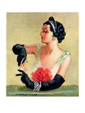"""At the Opera,""December 9, 1933 Giclee Print by Tempest Inman"