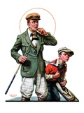 """Hole in One,""September 11, 1926 Giclee Print by Lawrence Toney"