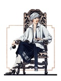 """Seated Woman,""February 17, 1923 Giclee Print by C. Coles Phillips"