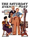 """First Long Suit,"" Saturday Evening Post Cover, September 18, 1937 Giclee Print by J.C. Leyendecker"