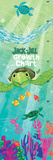 Jack and Jill - Undersea Growth Chart Wall Decal