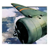 """Propeller,""August 7, 1937 Giclee Print by Ivan Dmitri"