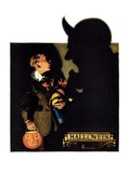 """Halloween, 1926,""October 30, 1926 Reproduction procédé giclée par Edgar Franklin Wittmack"