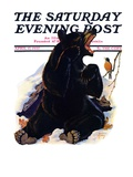 """End of Hibernation,"" Saturday Evening Post Cover, April 17, 1937 Giclee Print by Jack Murray"