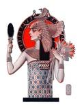 """Egyptian Queen,""October 6, 1923 Giclee Print by Joseph Christian Leyendecker"