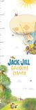 Jack and Jill - Air Balloon Growth Chart Wall Decal
