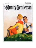 """Hillside Serenade,"" Country Gentleman Cover, May 1, 1928 Giclee Print by McClelland Barclay"