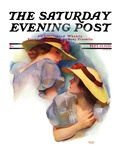"""Twin Outfits,"" Saturday Evening Post Cover, September 19, 1936 Giclee Print by Mortimer Hyman"