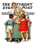 """Penny Candy,"" Saturday Evening Post Cover, August 19, 1939 Giclee Print by Frances Tipton Hunter"