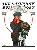 """Runaway Boy,"" Saturday Evening Post Cover, May 17, 1924 Giclee Print by Charles Towne"