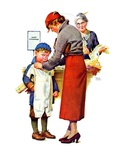 """""""New Woolies,""""February 27, 1937 Giclee Print by Frances Tipton Hunter"""