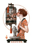"""Easter, 1923,""March 31, 1923 Giclee Print by Joseph Christian Leyendecker"