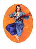 &quot;Artist and Her Palette,&quot;September 9, 1933 Giclee Print by John LaGatta