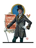 """Uncle Tom's Cabin,""March 26, 1927 Reproduction procédé giclée par Edgar Franklin Wittmack"