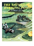 """Dinnertime!,"" Saturday Evening Post Cover, June 10, 1939 Giclee Print by Jacob Bates Abbott"