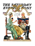 """Truce,"" Saturday Evening Post Cover, July 4, 1931 Giclee Print by Joseph Christian Leyendecker"