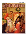 """Baby's First Christmas,"" Country Gentleman Cover, December 1, 1929 Giclee Print by Haddon Sundblom"