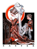 """Medieval Easter,""April 19, 1924 Giclee Print by J.C. Leyendecker"