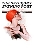 """Beachball,"" Saturday Evening Post Cover, July 12, 1924 Giclee Print by James Calvert Smith"