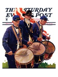 """War Veterans,"" Saturday Evening Post Cover, June 1, 1935 Giclee Print by Maurice Bower"
