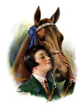 """Blue Ribbon Winner,""March 19, 1927 Giclee Print by William Haskell Coffin"