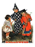 """""""Trick-Or-Treat,""""October 25, 1930 Giclee Print by Ellen Pyle"""