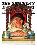 """After Turkey Nap,"" Saturday Evening Post Cover, November 26, 1938 Giclee Print by Joseph Christian Leyendecker"