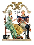 """Truce,""July 4, 1931 Giclee Print by Joseph Christian Leyendecker"