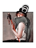 """Woman with Baton,""February 28, 1925 Giclee Print by Roy Best"