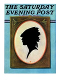 """A Silhouette,"" Saturday Evening Post Cover, May 11, 1929 Giclee Print by Penrhyn Stanlaws"